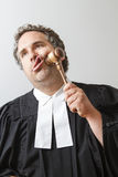 Gavel bashing Royalty Free Stock Photo