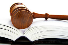 Gavel book Royalty Free Stock Image