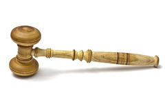 Gavel closeup Stock Image