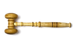 Gavel closeup Stock Photography