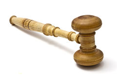 Gavel closeup Stock Images
