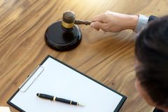 Gavel concept auction good product like home stock image