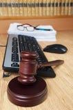 Gavel do juiz Imagens de Stock