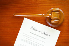 Gavel doc Royalty Free Stock Photography