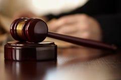 Gavel dos juizes Fotografia de Stock Royalty Free