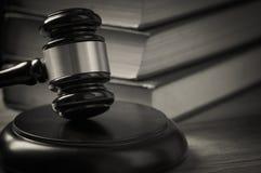 Gavel du juge photographie stock libre de droits
