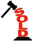 Gavel hitting sold