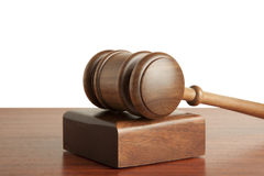 Gavel Isolated Royalty Free Stock Image