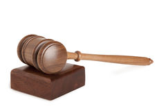 Gavel isolated Stock Photo