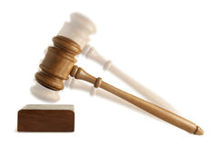 Gavel Isolated Stock Images