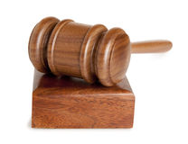 Gavel Isolated Royalty Free Stock Photography