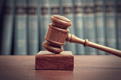 The gavel Royalty Free Stock Images