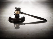 Gavel judge Royalty Free Stock Image