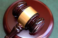 Gavel for justice Stock Photo