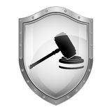Gavel justice and law concept Stock Photos