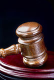 Gavel and Justice. Stock Image