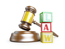 Gavel law Royalty Free Stock Photos