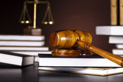 Gavel,Law theme, mallet of judge Stock Images