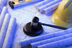 Labor and construction law concept.