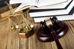 Gavel, Mallet of justice concept Royalty Free Stock Image