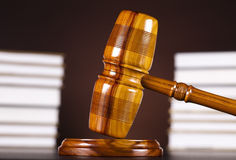 Gavel, Mallet of justice concept Stock Images
