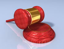 Gavel set B Royalty Free Stock Image