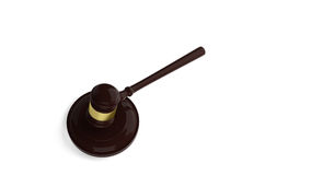 Gavel and sound block Royalty Free Stock Photography