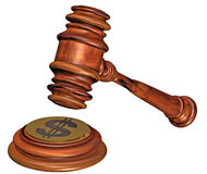 Gavel and soundblock Royalty Free Stock Photo