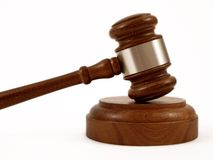 Gavel, Sounding Block Royalty Free Stock Photo