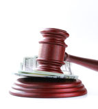 Gavel on a stand Stock Images