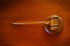 Gavel top Stock Images