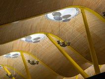 Gavelconstrukton, flygplats Fotografering för Bildbyråer