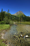 Gaver. Piana del Gaver (Bs),Valley  Caffaro,Lombardy,Italy,the river Caffaro Royalty Free Stock Photography