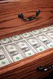 Gaveta completamente do dinheiro Fotos de Stock Royalty Free
