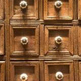 Gaveta da caixa de madeira Foto de Stock Royalty Free