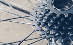 Gaveta da engrenagem da bicicleta Imagens de Stock