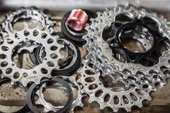 Gaveta da engrenagem da bicicleta Imagem de Stock Royalty Free