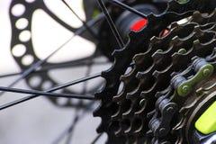 Gaveta da engrenagem na bicicleta Foto de Stock