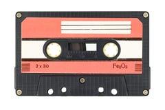 Gaveta de cassete áudio velha fotografia de stock royalty free