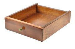 Gaveta de madeira Imagem de Stock Royalty Free