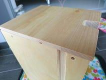 Gaveta de madeira de montagem Imagem de Stock