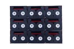 Gaveta de MiniDV Fotos de Stock