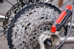 Gaveta traseira da bicicleta imagem de stock royalty free