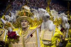 Gaviões DA coloca - São Pablo - el Brasil - carnaval Imagenes de archivo