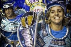 Gaviões DA coloca - São Pablo - el Brasil - carnaval Fotografía de archivo