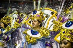 Gaviões DA coloca - São Pablo - el Brasil - carnaval Fotografía de archivo libre de regalías