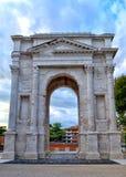 Gavi曲拱(Arco dei Gavi) 库存图片