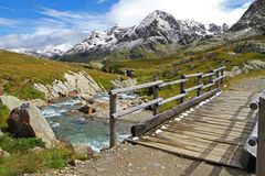 Gavia Torrent Royalty Free Stock Images