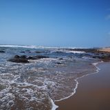 Gavies strand arkivfoton