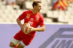 Gavin Hume of USAP Perpignan Royalty Free Stock Photos